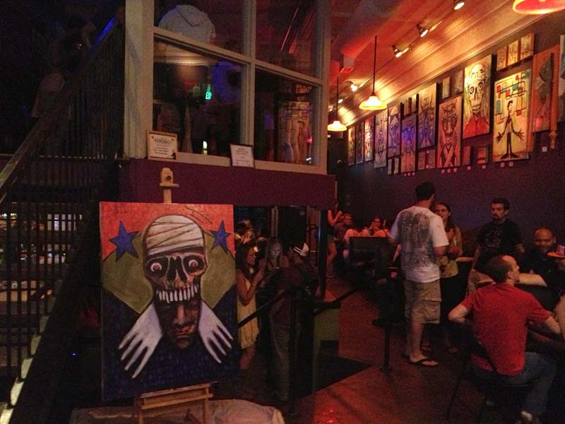 Michael Herring Live Painting - Stage 3