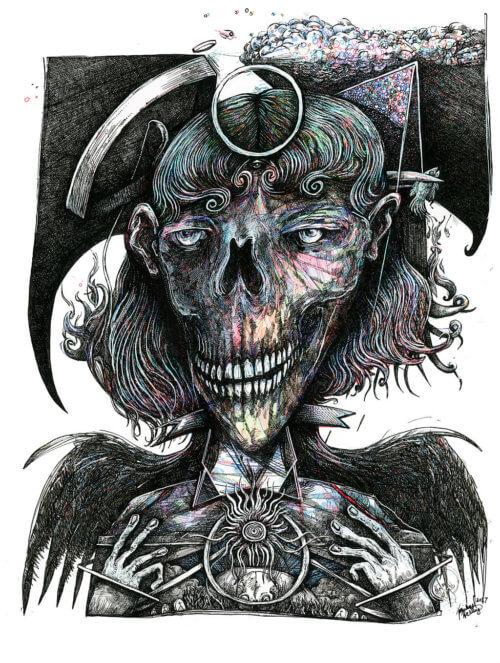 Feminine Skull
