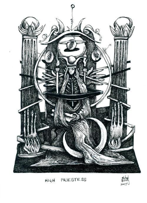 Tarot – High Priestess