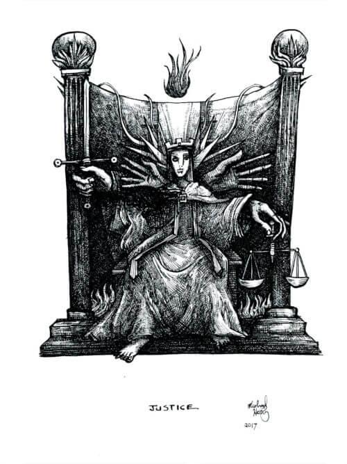 Tarot – Justice