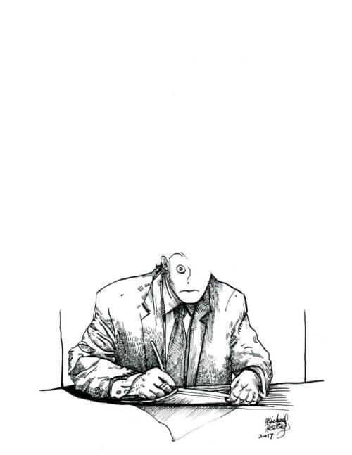 Suit Drawing 001 – Signatory